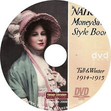 1914 National Fall and Winter Fashion Clothing Shoes & Housewares Catalog on DVD