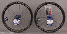 2015 Campagnolo Bora Ultra 50 Carbon Clincher Wheelset CULT Bearings Dark Label
