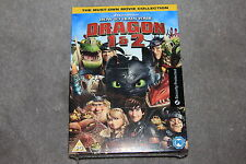 HOW TO TRAIN YOUR DRAGON 1 AND 2 DVD BOXSET   BRAND NEW SEALED