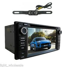 Car CD DVD Player for Toyota GPS Navigator Mp3 Bluetooth SD USB Radio iPod+Cam