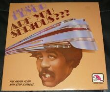 RICHARD PRYOR 33RPM LP ARE YOU SERIOUS STAND-UP COMEDY SPOKEN WORD LAFF