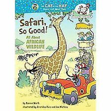 Safari, So Good! : All about African Wildlife by Bonnie Worth (2011, Hardcover)