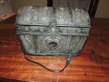 Pirates of the Caribbean Davy Jones Heart Treasure Chest CD Player Boombox~VGC!