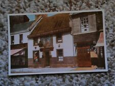 old vintage postcard Tam O'Shanter Inn Ayr United kingdom Scotland Valentine