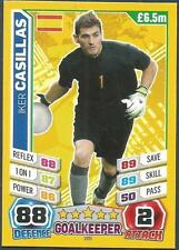 TOPPS MATCH ATTAX  BRAZIL 2014 WORLD CUP- #205-SPAIN-IKER CASILLAS