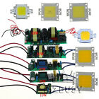 10W 20W 30W 50W 100W LED Bright Chip White High Power Driver For LED Light Lamp