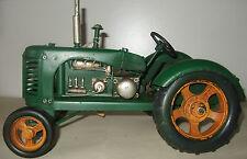 Piatto in stagno modello di un trattore verde classictransport/ornamento/Regalo