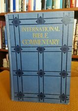 International Bible Commentary w/ introduction to each book by Irwin 1928 VTG HC