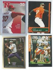 Huge (123) card lot of college cards NCAA Pitchers QBs Quarterbacks - READ LIST
