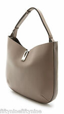 NEW AUTHENTIC ANYA HINDMARCH ALBION GREY LEATHER HOBO BAG   FABULOUS GIFT £1250