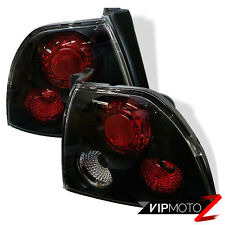 *AMAZINDEALS* 94-95 Honda Accord 2/4 Door Black Tail Lights Rear Brake Pair