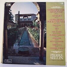 """33T Pierre SELLIN Disque LP 12"""" CONCERTO ARANJUEZ -ADAGIO Trompette VEGA 16083"""