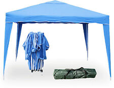 NEW POP UP GAZEBO 3x3m Party Festival TENT MARQUEE in Ink Blue by Charles Jacobs