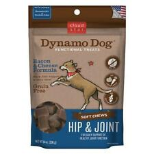 Cloud Star Dynamo Dog Hip and Joint Functional Treat Pouches, Bacon and Cheese,