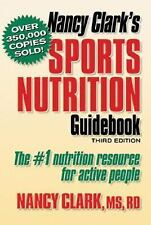 Nancy Clark's Sports Nutrition Guidebook, Third Edition, Nancy Clark, Good,  Boo