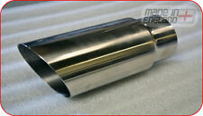 "2.5""-3"" inch high grade stainless steel exhaust tailpipe, trim, tip"