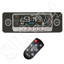 Look retro autoradio Bluetooth USB SD CD mp3 Design radio Oldtimer style negro