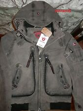 $600+ NWT WELLENSTEYN ORIGINAL Germany Distreseed Rescue Hooded Jacket Bomber L