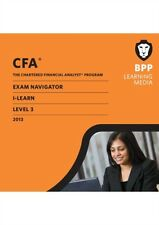 CFA Navigator - ILearn Level 3 (CD-ROM), BPP Learning Media, 9781445363141