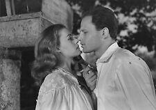 Photo originale Jeanne Moreau Jean-Marc Bory Les amants baiser Louis Malle