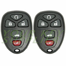 2 New Keyless Entry Remote Key Fob Malibu Cobalt G5 LaCrosse 22733524 KOBGT04a