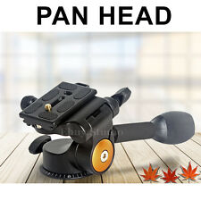 New Pan Head Tilt Ball Head For Camera Tripod Nikon Canon Manfrotto Velbon Benro