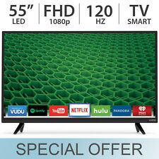 "VIZIO 55"" inch 1080p FULL HD 120Hz LED LCD Smart TV w/ 3 HDMI - D55-D2"