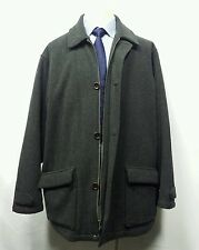 Polo by Ralph Lauren charcoal Wool blend  Mens Peat Coat Jacket sz XL