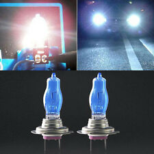 2Pcs New H7 6000K 12V White Car Driving HOD Xenon Bulb Lamp Light Headlight 100W