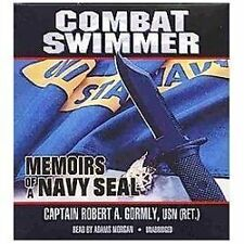 NEW Combat Swimmer: Memoirs of a Navy Seal by Robert A. Gormly Compact Disc Book