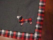 """Telluride Clothing Co DACHSHUND DOG Throw Blanket - 50"""" x 60"""" NEW in Package"""