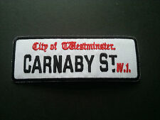 HEAVY METAL PUNK ROCK MUSIC SEW / IRON ON PATCH:- CARNABY STREET LONDON W1