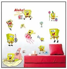 SpongeBob Wall Stickers Kids Room Decor Art Wall Decals Decal Home Deco Mural