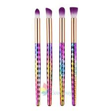 New Unicorn Face Eyeliner Brush Thread Cosmetic Make Up Flat Brushes Set Tools