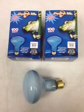 DayBrite 100W R25 Flood Neodymium Reptile Pet Heat Full Spectrum Light Bulb 2pcs