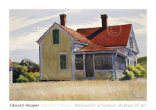 LANDSCAPE ART PRINT - Marshall's House, 1932 by Edward Hopper Poster 34x24