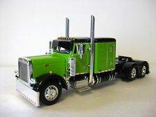 Peterbilt Flattop Model Tractor 1/64th Lime / Black DCP #3513