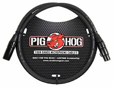3 Ft Pig-Hog Microphone Mic  XLR 8mm Tour Grade Quality Cable.