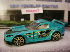 2017 Hot Wheels HONDA S2000☆Teal-Blue;Gold 10sp☆multi Exclusive?☆LOOSE