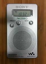 Radio portátil - SONY SRF M 807 Sintonizador digital FM/AM, WALKMAN