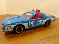 TOMICA Tomy POCKET CARS F34 CHEVROLET CAMARO Z-28 POLICE CAR BLUE Loose