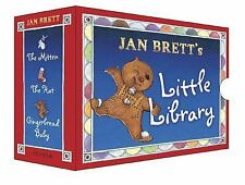 Little Library : The Mitten, the Hat, Gingerbread Baby by Jan Brett (2003,...