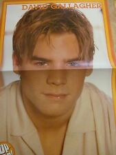 David Gallagher, Ashanti, Double Two Page Centerfold Poster