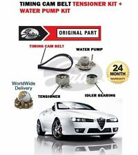 FOR ALFA ROMEO SPIDER 2.4 JTDM 2006-  TIMING CAM BELT TENSION KIT + WATER PUMP