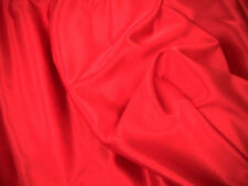 Red Slipper Satin/Silky/Shiny Dress Fabric150cm Wide  SOLD BY THE METRE