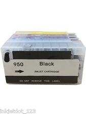 Refillable ink cartridges for HP 950 951 XL OfficeJet Pro 8100 8600 8610 8615