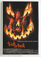 Trick or Treat FRIDGE MAGNET (2.5 x 3.5 inches) movie poster horror 1986