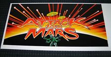ATTACK FROM MARS screen printed decals, the best, last sets! Do not miss out!