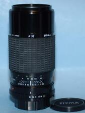 Minolta Sigma 75-210mm f3.5-4.5 Macro zoom lens in MD mount - Nice Mint-!