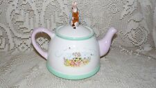BEATRIX POTTER PETER RABBIT FW & CO. TEA POT 2002